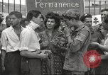 Image of U.S. Paratrooper talks with  French Forces of Interior Saint Tropez France, 1944, second 9 stock footage video 65675061547