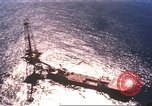 Image of offshore oil rig Atlantic Ocean, 1965, second 10 stock footage video 65675061602