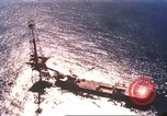 Image of offshore oil rig Atlantic Ocean, 1965, second 11 stock footage video 65675061602