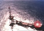 Image of offshore oil rig Atlantic Ocean, 1965, second 12 stock footage video 65675061602
