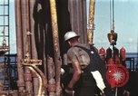 Image of offshore oil rig Atlantic Ocean, 1965, second 8 stock footage video 65675061603