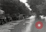 Image of flooded highway Panjao Burma, 1944, second 7 stock footage video 65675061640