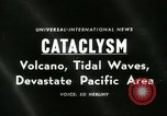 Image of damage due to cataclysm Pacific Ocean, 1960, second 4 stock footage video 65675061716