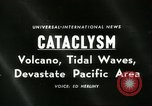 Image of damage due to cataclysm Pacific Ocean, 1960, second 5 stock footage video 65675061716