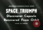 Image of Discoverer XIII United States USA, 1960, second 1 stock footage video 65675061720