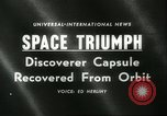 Image of Discoverer XIII United States USA, 1960, second 4 stock footage video 65675061720