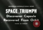 Image of Discoverer XIII United States USA, 1960, second 5 stock footage video 65675061720