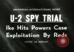 Image of U-2 Spy Trials Moscow Russia Soviet Union, 1960, second 1 stock footage video 65675061725