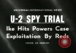 Image of U-2 Spy Trials Moscow Russia Soviet Union, 1960, second 3 stock footage video 65675061725