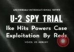 Image of U-2 Spy Trials Moscow Russia Soviet Union, 1960, second 4 stock footage video 65675061725
