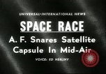 Image of Discoverer XIV Pacific Ocean, 1960, second 1 stock footage video 65675061730