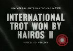 Image of International Trotting Championship New York United States USA, 1960, second 2 stock footage video 65675061733