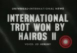 Image of International Trotting Championship New York United States USA, 1960, second 4 stock footage video 65675061733
