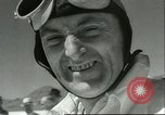 Image of Sir Malcolm Campbell Utah Bonneville Salt Flats USA, 1960, second 1 stock footage video 65675061737