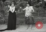 Image of Hawaiian civilians Honolulu Hawaii USA, 1941, second 9 stock footage video 65675061749