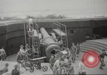 Image of 14-inch disappearing rifle at Ft. DeRussy Hawaii USA, 1941, second 5 stock footage video 65675061752