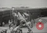 Image of 14-inch disappearing rifle at Ft. DeRussy Hawaii USA, 1941, second 7 stock footage video 65675061752