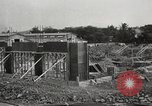 Image of construction site Hawaii USA, 1941, second 8 stock footage video 65675061755