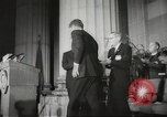 Image of President John F Kennedy awards handicapped man Massachusetts United States USA, 1963, second 11 stock footage video 65675061766