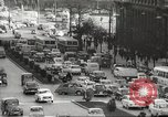 Image of parking problems Madrid Spain, 1966, second 8 stock footage video 65675061784