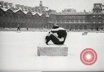 Image of snowfall Paris France, 1966, second 12 stock footage video 65675061791