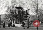 Image of huge clock Zurich Switzerland, 1967, second 10 stock footage video 65675061796