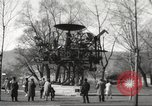 Image of huge clock Zurich Switzerland, 1967, second 11 stock footage video 65675061796