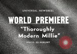 Image of world premier New York United States USA, 1967, second 3 stock footage video 65675061800