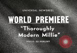 Image of world premier New York United States USA, 1967, second 4 stock footage video 65675061800