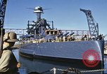Image of USS California (BB-44) Pearl Harbor Hawaii USA, 1942, second 3 stock footage video 65675061810