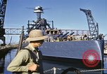 Image of USS California (BB-44) Pearl Harbor Hawaii USA, 1942, second 10 stock footage video 65675061810