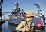 Image of USS California (BB-44) Pearl Harbor Hawaii USA, 1942, second 11 stock footage video 65675061810