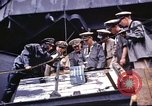 Image of shipyard officers Pearl Harbor Hawaii USA, 1942, second 12 stock footage video 65675061812