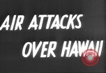 Image of attack on Pearl Harbor Pearl Harbor Hawaii USA, 1941, second 4 stock footage video 65675061820