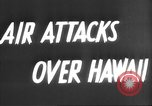 Image of attack on Pearl Harbor Pearl Harbor Hawaii USA, 1941, second 6 stock footage video 65675061820