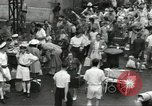 Image of fall of Singapore Singapore, 1942, second 9 stock footage video 65675061823