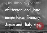 Image of Three Power Pact Germany, 1942, second 4 stock footage video 65675061830