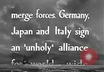 Image of Three Power Pact Germany, 1942, second 7 stock footage video 65675061830