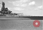 Image of USS Colorado (BB-45) maneuvering to Berth F-12A Pearl Harbor Hawaii USA, 1942, second 11 stock footage video 65675061843