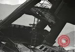 Image of Workers removing foremast of USS Arizona Pearl Harbor Hawaii USA, 1942, second 7 stock footage video 65675061864
