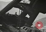 Image of Workers removing foremast of USS Arizona Pearl Harbor Hawaii USA, 1942, second 12 stock footage video 65675061864