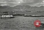 Image of dock installations Hawaii USA, 1945, second 7 stock footage video 65675061869