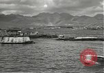 Image of dock installations Hawaii USA, 1945, second 8 stock footage video 65675061869