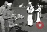 Image of United States sailors learn about end of World War II Hawaii USA, 1945, second 4 stock footage video 65675061871