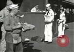 Image of United States sailors learn about end of World War II Hawaii USA, 1945, second 6 stock footage video 65675061871