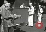 Image of United States sailors learn about end of World War II Hawaii USA, 1945, second 7 stock footage video 65675061871
