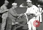 Image of United States sailors learn about end of World War II Hawaii USA, 1945, second 9 stock footage video 65675061871