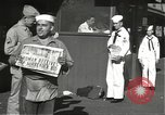 Image of United States sailors learn about end of World War II Hawaii USA, 1945, second 12 stock footage video 65675061871