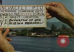 Image of USS Arizona Memorial Honolulu Hawaii USA, 1962, second 1 stock footage video 65675061878