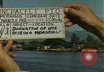 Image of USS Arizona Memorial Honolulu Hawaii USA, 1962, second 2 stock footage video 65675061878